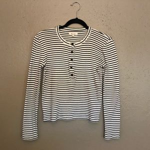 Madewell striped Henley